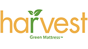 Harvest Green Mattress Logo